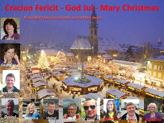 Craciun Fericit - God Jul - Mary Christmas