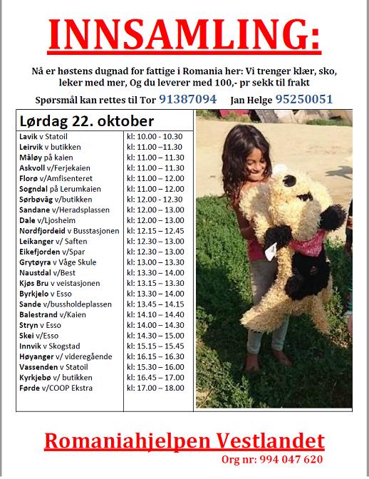 Høst 2016 Sogn & Fjordane